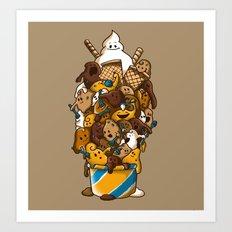 Ice Cream Time Art Print