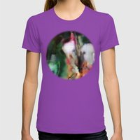 Breath Art #5  Womens Fitted Tee Ultraviolet SMALL