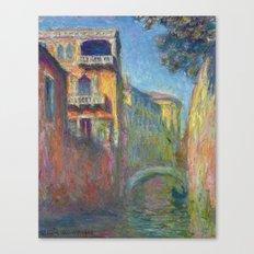 Rio Della Salute By Clau… Canvas Print