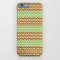 AZTEC Pattern 1-2 iPhone 6 Slim Case
