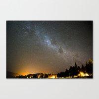 Milky Way 01373 Canvas Print
