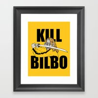 Kill Bilbo Framed Art Print