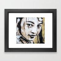 Histoires de pouvoir 1 Framed Art Print