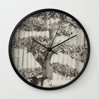 Bonsai Wall Clock