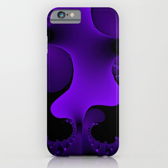 Purple Rain Fractal iPhone & iPod Case