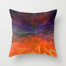 Lost Horizons Throw Pillow