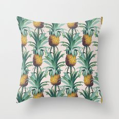 Pineapple Trellis Throw Pillow