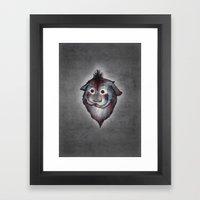 Ghost / Alone Framed Art Print
