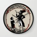 Ye Oldé Vintage Pretension Wall Clock