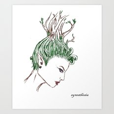 Green Thoughts Art Print