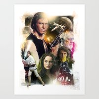 Star Wars Art Print