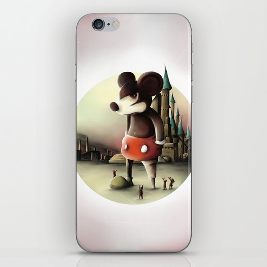 Mickey's Kingdom iPhone & iPod Skin