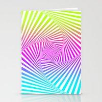 Summer Twista 3 Stationery Cards