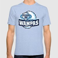 Planet Hoth Wampas - Blu… Mens Fitted Tee Tri-Blue SMALL