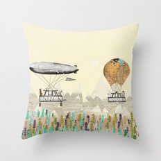 adventure days 3 Throw Pillow
