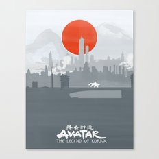 Avatar The Legend Of Kor… Canvas Print