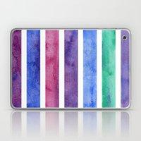 Peacock Stripes Laptop & iPad Skin