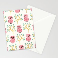 Owl Grove Stationery Cards