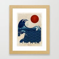 Help Japan 2011 Framed Art Print