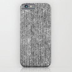 Stockinette Black Slim Case iPhone 6s
