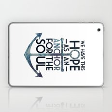 WE HAVE THIS HOPE. Laptop & iPad Skin