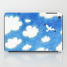 Seagull in the sky iPad Case