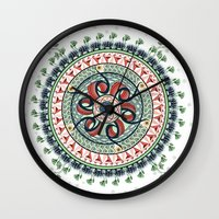 Surrounded By Classics M… Wall Clock