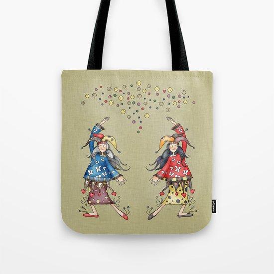 Lady Jokers Tote Bag