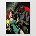 NIGHT STALKER Canvas Print