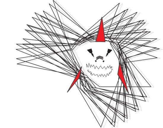 When Sharks Attack Art Print