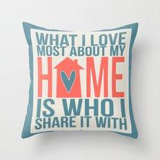 Home  Throw Pillow