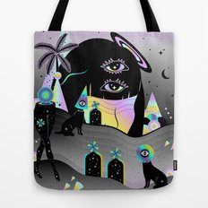 One night on Jupiter Tote Bag