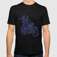 Motorbike  Mens Fitted Tee Tri-Black SMALL