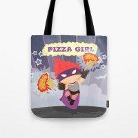 Pizzagirl Tote Bag