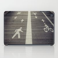 Brooklyn Bridge Footpath iPad Case