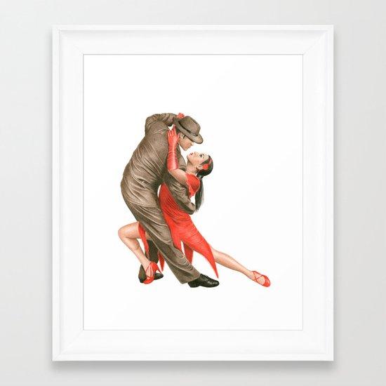 Tango Framed Art Print