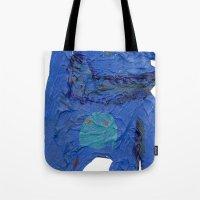 El Monstro Azul Tote Bag