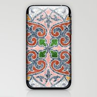 Blue Mandala 03 iPhone & iPod Skin