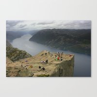 Preikestolen, Norway (2) Canvas Print