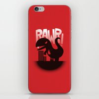 Rawr! iPhone & iPod Skin