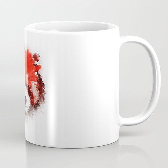 Red Panda (White) Mug