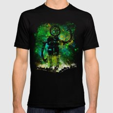 Mad Robot Black SMALL Mens Fitted Tee