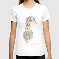 Got Guts Womens Fitted Tee White SMALL