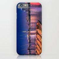 Blue Night. Cambridge MA iPhone 6 Slim Case