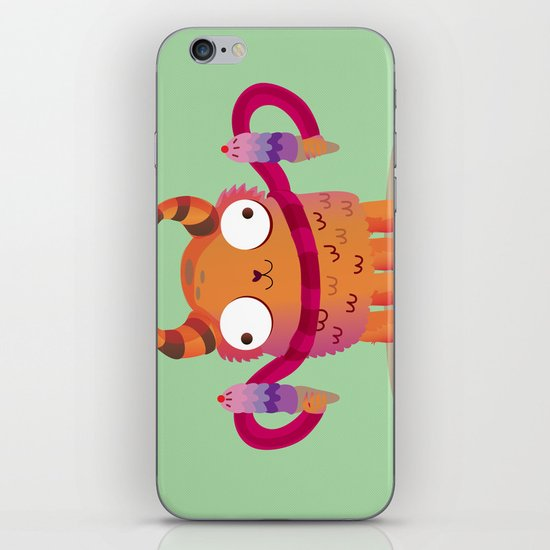 Icecream monster iPhone & iPod Skin