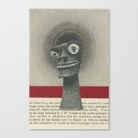 We Canonized Our Demons Canvas Print
