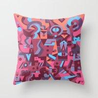Schema 12 Throw Pillow
