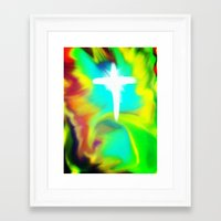 Rapture... a new beginning Framed Art Print
