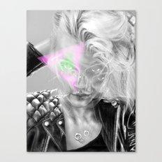 + Dark Fantasy II + Canvas Print