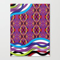 Pattern AM02 Colorful Canvas Print